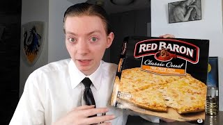 Red Baron Classic Crust Four Cheese Pizza Review!