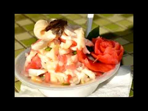 How to prepare a conch salad like in the Bahamas
