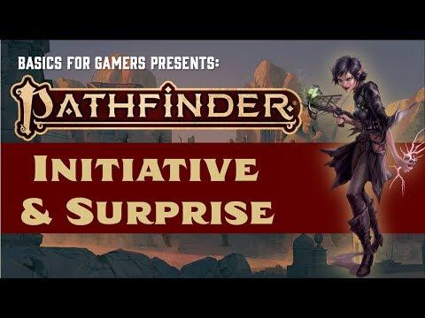 Pathfinder (2e): Basics of Initiative and Surprise