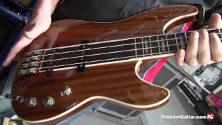 musikmesse 14 hagstrom super swede bass demo