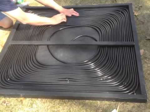 Solar Panel For Swimming Pool Youtube