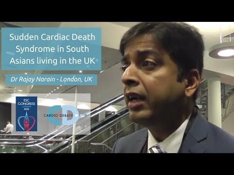 ESC 2015: Cardiovascular risk and sudden death syndrome in South Asia - Dr Rajay Narain