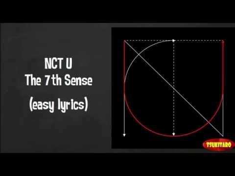 NCT U - The 7th Sense Lyrics (easy lyrics)