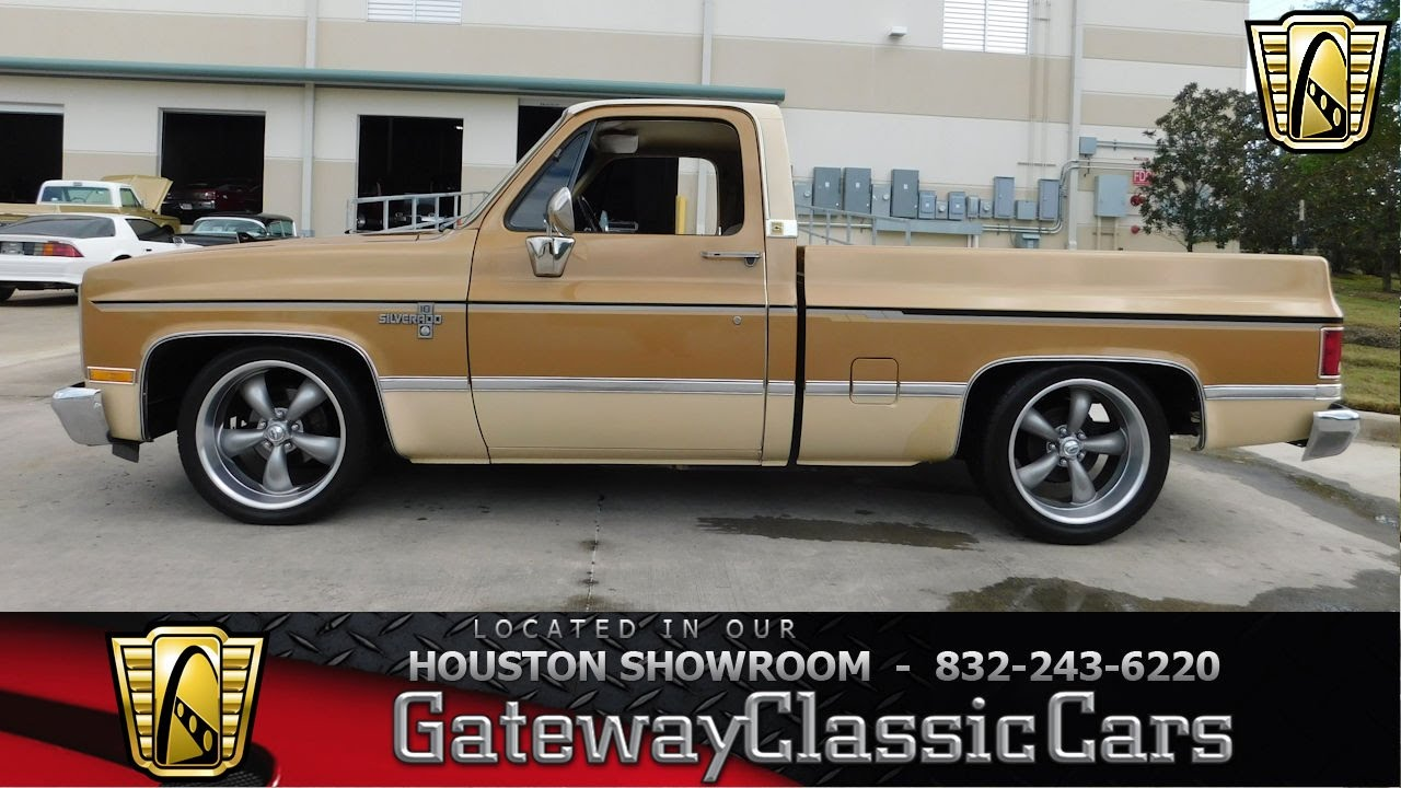 All Chevy 1984 chevrolet c10 : 1984 Chevrolet C10 Stock #552 Gateway Classic Cars Houston ...