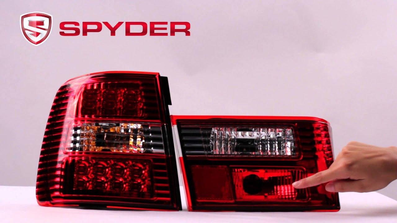 Spyder Auto Product Showcase 1988 1995 Bmw E34 5 Series