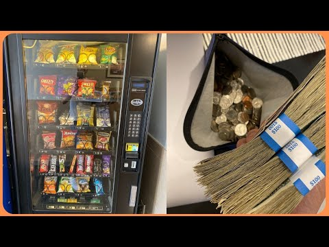 A Mixture of Almost EVERY Type of Vending Machine Business Collection!