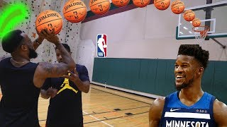 Jimmy Butler's NBA Trainer Fixed My Broken Jumpshot | Competitive Basketball 1v1!