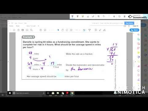 Math 7 4.1 Rates thumbnail