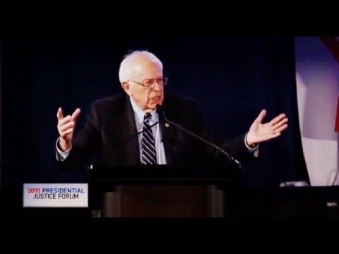 Presidential Justice Forum - Bernie Sanders 2016