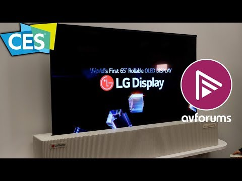 The Best 4K HDR OLED and LED TVs of CES 2018