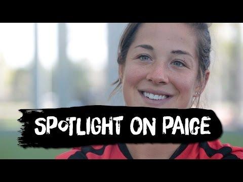 Paige Nielsen living the dream