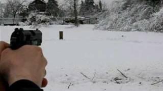Травматический пистолет Grand Power T12 АКБС 10х28(Мишени это обычные доски и фанерки, дистанция до мишений минимум 14-15 шагов по прямой, по диагонали 15-17 шагов., 2011-01-10T19:28:02.000Z)