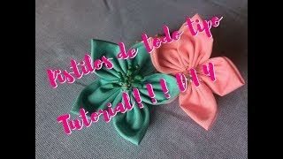 Tutorial de Pistilos para tus flores de todo tipo. DIY Pistil for Flowers Proyects.