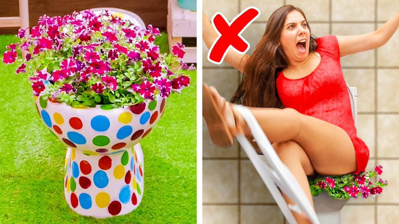 44 SHOCKING TOILET FAILS AND HACKS