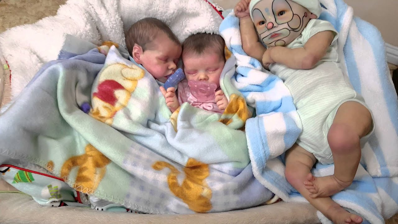 Reborn Baby Twins With New Baby - YouTube