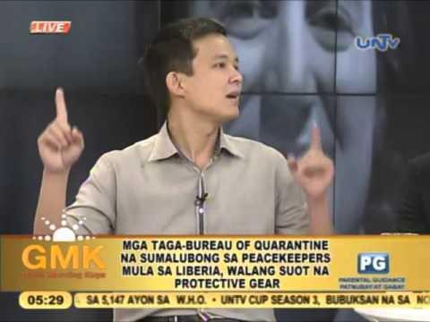 Bureau of quarantine to filipino peacekeepers from liberia for Bureau quarantine