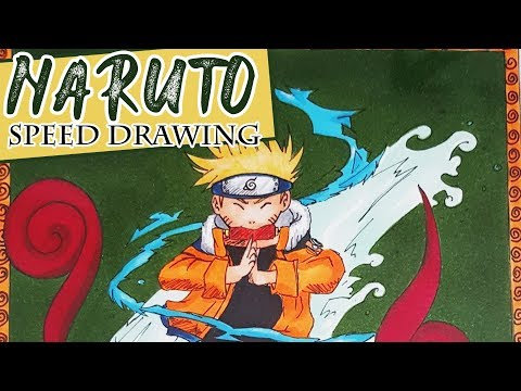 Comment BOOKTUBE [MANGA]: Speed Drawing | Comment dessiner Naruto ?