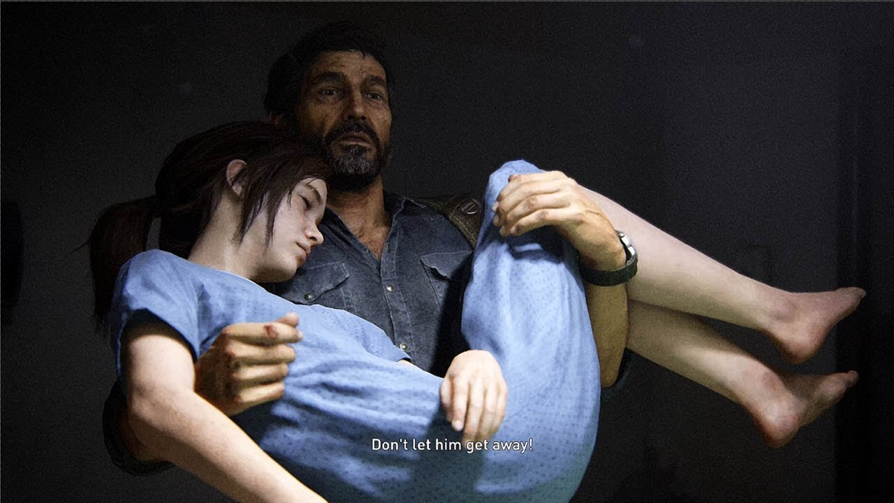 THE LAST OF US Part 2 - Joel saves Ellie (TLOU Flashback) @ 4K ...