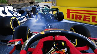 F1 Road to Glory 2021 Career - 13 DNFs AT BAKU! MAYHEM! 2 SAFETY CARS! - Part 4
