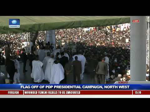 PDP Launches Presidential Campaign In Sokoto Pt.6 |Live Event|