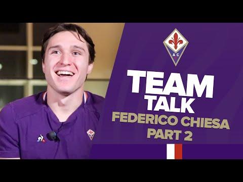 EXCLUSIVE: FEDERICO CHIESA / PART 2 #EURO2020, #SerieA, #tactics, #defenders… part 2⃣ |