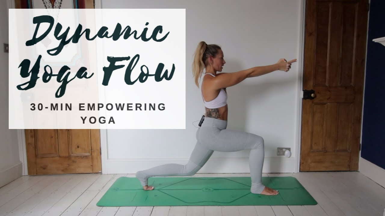 Dynamic Empowering Yoga 30 Minute All Levels Cat Meffan Youtube