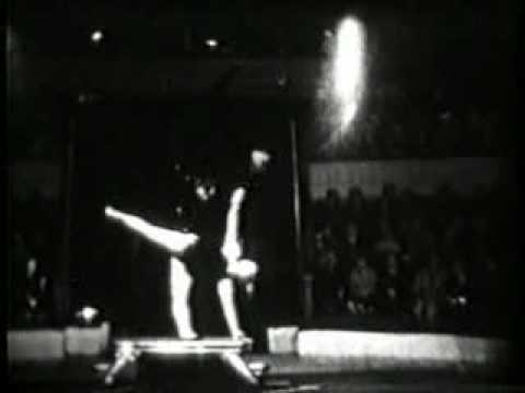 vintage acrobats strong woman youtube
