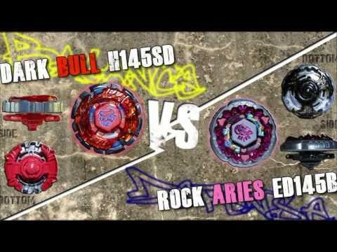 Dark Bull H145SD VS Rock Aries ED145B - AMVBB Beyblade Battle
