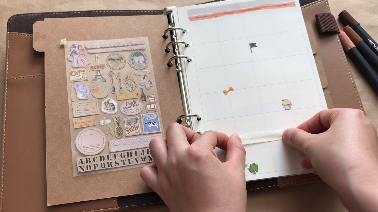 Trang trí planner với mình!!! | How to organize your planner