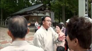 Repeat youtube video 高野山奥の院参詣短コース①.wmv