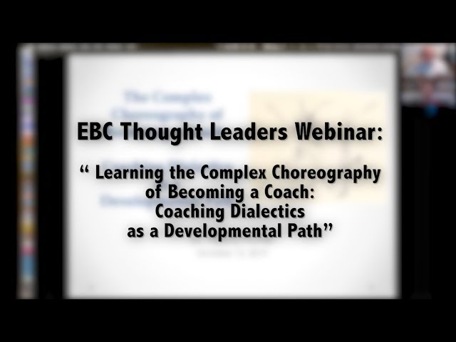 Learning the Complex Choreography of Becoming a Coach
