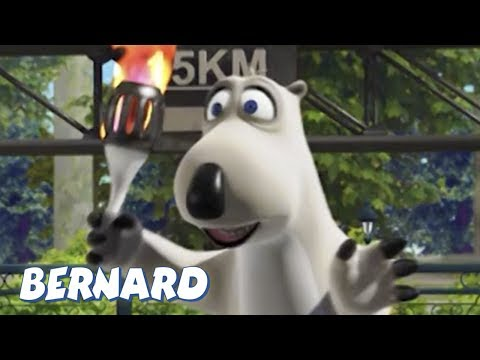 Bernard Bear   The Olympic Torch AND MORE   30 min Compilation   Cartoons for Children