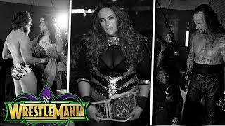 20 Fotos Emotivas En El Backstage De Wrestlemania 34