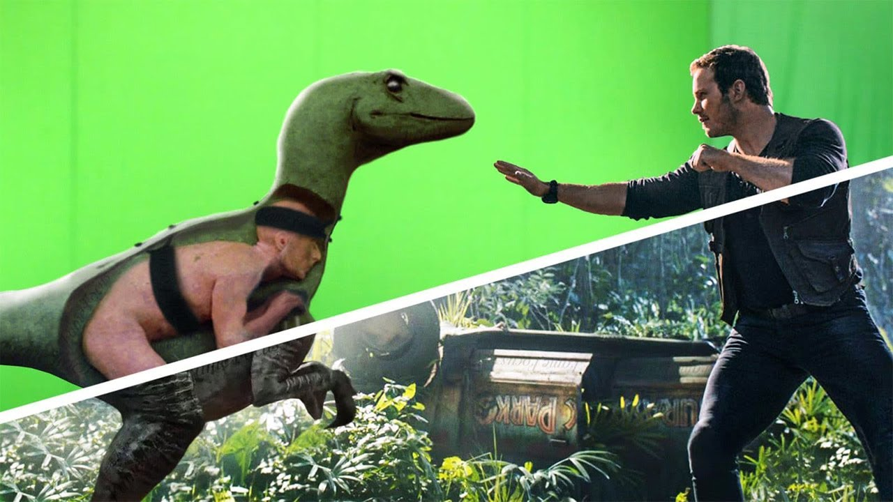 10 Movies before and after special effects