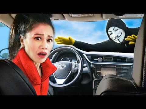 VY IS STUCK! Spending 24 Hours In Hacker Car While Chad & Melvin PZ9 Battle Royale Project Zorgo!