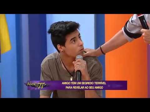 Colegas De Banda Lavam Roupa Suja Em Rede Nacional - Você Na TV 21/03/2014