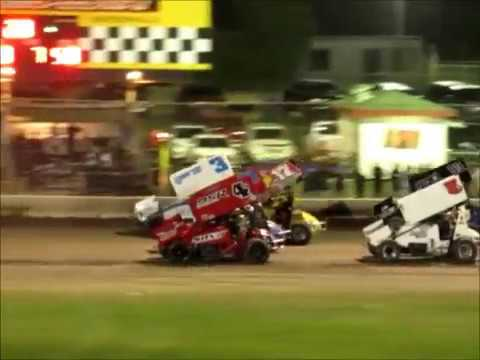 Sprintcars 57th Johnny Key Classic @ Ocean Speedway 8 12 17
