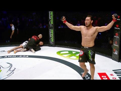 Daniel Toledo (Spain) vs Sak Asylzhan (Kazakhstan)   KNOCKOUT, MMA fight, HD