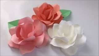 【Paper Flower】エレガントローズ Elegant Rose