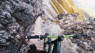 Fahrt auf KEINEN Fall diesen Trail! Böse Überraschung - Davos Klosters   Fabio Schäfer Vlog #187