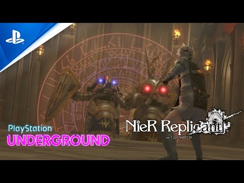 NieR Replicant Gameplay - PlayStation Underground | PS4