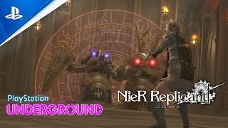 NieR Replicant Gameplay - PlayStation Underground   PS4