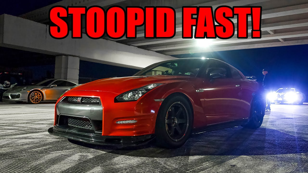 1000HP GTR Bullies the TEXAS STREETS! (Lamborghini's, Boosted Corvettes, and MORE!)