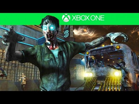 TRANZIT EASTER EGG ON XBOX ONE! - BLACK OPS 2 ZOMBIES XBOX ONE GAMEPLAY!