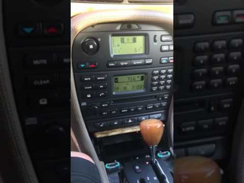 Jaguar s type ac blowing very hot air , here is the answer
