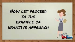 Deductive approach vs Inductive approach in teaching