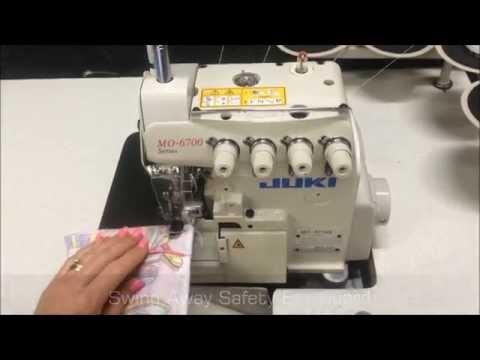 Juki MO-6714S Industrial 4 Thread Overlocker By Sewing Machines Australia (SMA)