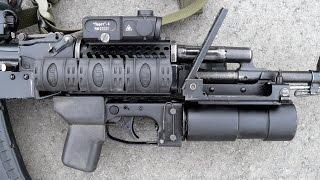5,45-мм АК74М с 40-мм подствольным гранатометом ГП-30. Фотообзор.