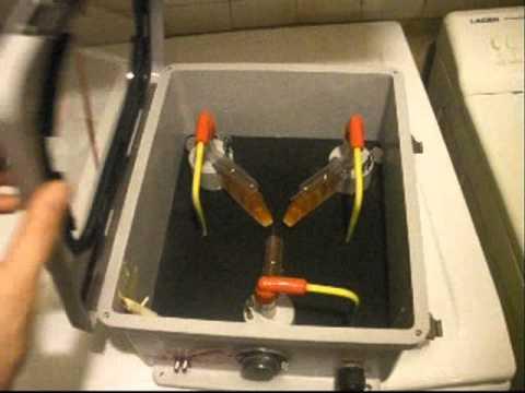 fabrication de mon convecteur temporel de retour vers le future.wmv