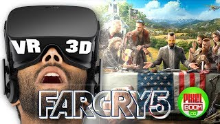 FAR CRY 5 - Cinematic Characters Trailer Gameplay VR Google Cardboard 3D SBS 1080p PS4